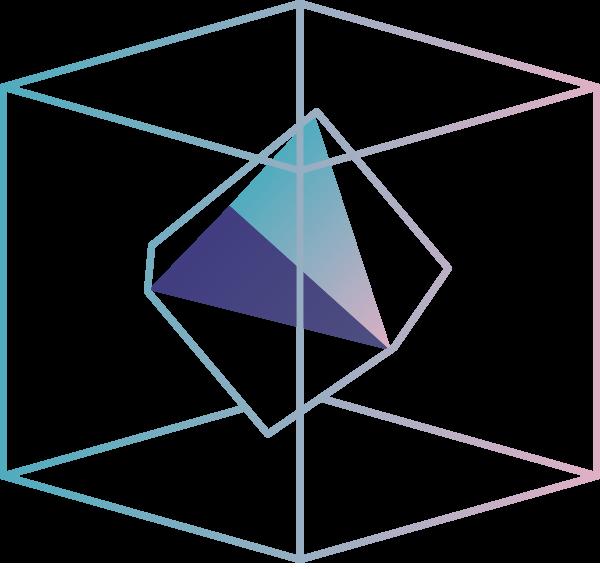 Cube cube triangle