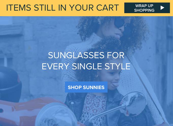 Hero cart sunglasses